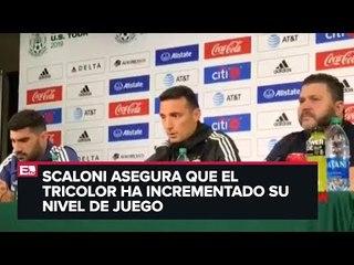 Se alista el encuentro México-Argentina