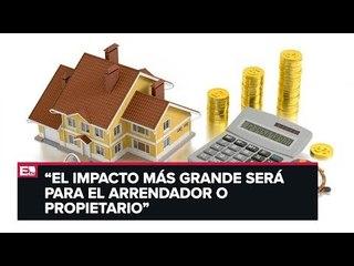 Luis Ramírez habla sobre impuestos al arrendamiento