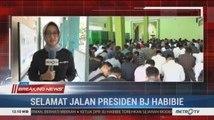 Mahasiswa di Semarang Gelar Salat Gaib untuk Almarhum BJ Habibie