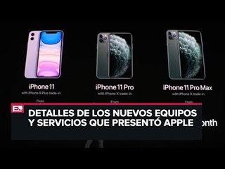 Especificaciones de los Iphone 11 y nuevos servicios de Apple