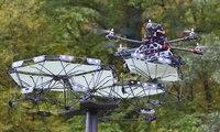 نظام ذكي لمظلات الحدائق... تتحكم بها طائرات الدرون لتغيير موقع الظلّ