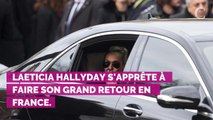 EXCLU CLOSER. Laeticia Hallyday de retour en France le 17 septembre