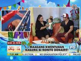 Nonito Donaire with wife Rachel %26 son Jarel on UKG