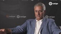 Mourinho disfruta por primera vez como aficionado de LaLiga