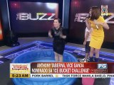 "Kris Aquino, nag-ice bucket challenge live sa """"The Buzz"""""