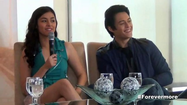 Enrique, Liza share their 'kilig' moments on the set of Forevermore
