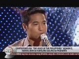 Luis Manzano kasama na nina Robi Domingo Toni at Alex Gonzaga sa The Voice of the Philippines