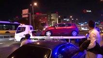 E5'te zincirleme trafik kazası, trafik kilitlendi