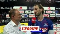 Lyneel «Il y avait un peu de nervosité» - Volley - Bleus