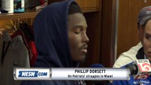 Phillip Dorsett On Patriots' Struggles In Miami, Antonio Brown