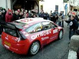 LOEB RALLY MONTE CARLO 2008 ANTRAIGUES
