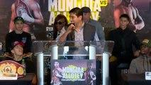 Eric Morales Speech