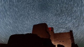 Breathtaking Footage Of Night Skies Above Ancient Ruins