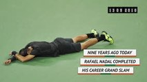 On This Day - Rafael Nadal completed career Grand Slam in 2010