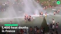 1.400 muertos por la ola de calor en Francia