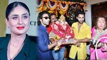 Kareena Kapoor Khan & Taimur Ali Khan not attended Reema Jain's Ganpati Visarjan | FilmiBeat