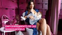 Modelos y mamás en la semana de la moda de Nueva York