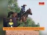 Kejohanan kuda lasak  Persedian mental dan fizikal peserta & kuda diambil kira