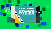 Full E-book Leading Equity-Based MTSS for All Students  For Kindle
