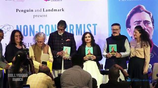 Amitabh Bachchan Launches Parikshat Sahni's Book 'Non Conformist Memories of My Father Balraj Sahni'
