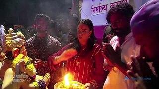 Nora Fatehi attends Remo D'Souza's Ganpati visarjan;Watch video