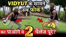 Vidyut Jammwal Gives 2 Big Challenges To Bollywood Stars!