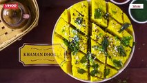 Instant & Easy Spongy Khaman Dhokla Recipe in Cooker - Besan Dhokla!