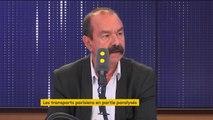 """""""Si la grève à la RATP est autant suivie, c'est que le problème est important"""", affirme Philippe Martinez"""