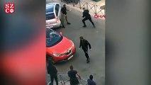Polis, gözaltına almaya çalıştığı adamla boks yaptı
