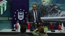 Bursasapor, BUDO ile 3,5 milyon liralık forma göğüs sponsorluğu imzaladı