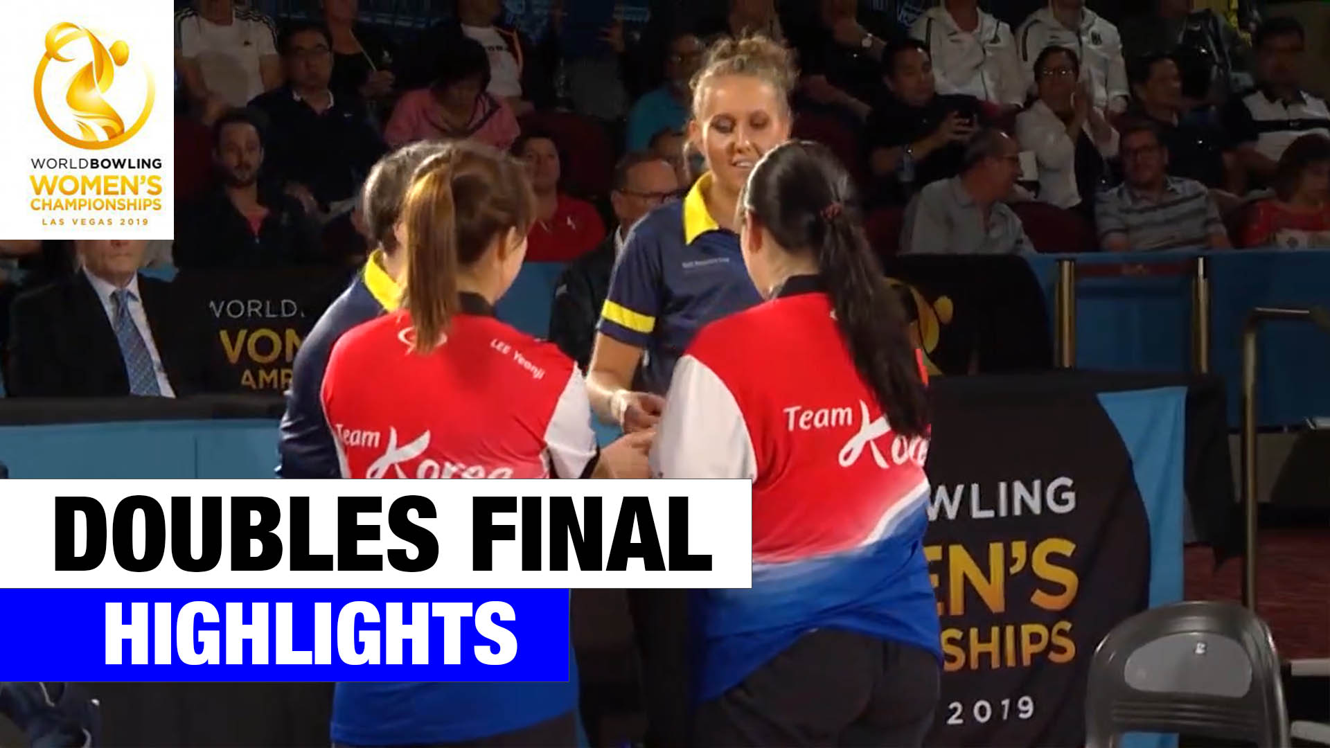 Doubles Final Highlights – World Bowling Women's Championships 2019