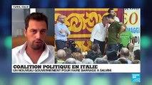 """Crise politique en Italie: """"Cette coalition M5S/PD est la coalition rêvée des Italiens"""""""