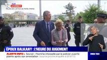 Fraude fiscale: Patrick et Isabelle Balkany sont arrivés au Palais de justice de Paris