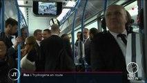 Environnement : un bus 100% hydrogène dans les Yvelines