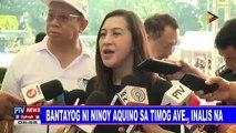 Bantayog ni Ninoy Aquino sa Timog Ave., inalis na