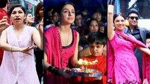 Divya Khosla And Tulsi Kumar's Dance During Ganpati Visarjan