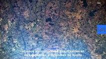 L'ouragan Dorian et les incendies en Amazonie, visibles depuis la Station spatiale internationale