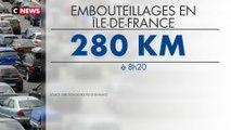 Grèves à la RATP : un trafic routier fortement perturbé ce matin à Paris
