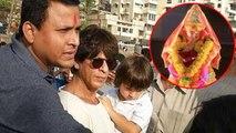 INSIDE Shah Rukh Khan's Ganpati Visarjan At Mannat