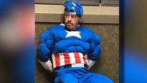 Arrestation d'un cambrioleur déguisé en « Captain America »