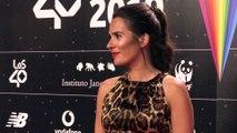 Anna Allen reaparece la alfombraroja de Los40 Music Awards