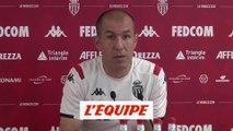 Jardim «Cette trêve nous a permis de bien travailler» - Foot - L1 - Monaco