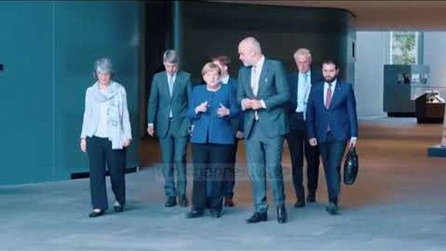"""Takimi në berlin, """"predispozitë pozitive ndaj Shqiprisë"""" - Top Channel"""