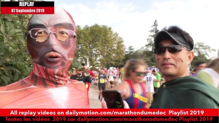 Replay Marathon du Médoc  2019-Ambiance sur la parcours 6 / runners atmosphere on the way 6