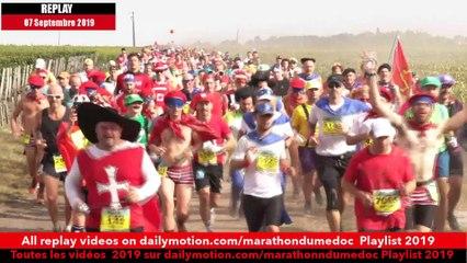 Replay Marathon du Médoc  2019-Ambiance sur la parcours 7 / runners atmosphere on the way 7