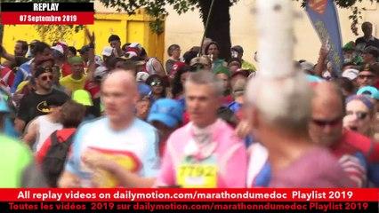 Replay Marathon du Médoc  2019-Ambiance sur la parcours 8 / runners atmosphere on the way 8