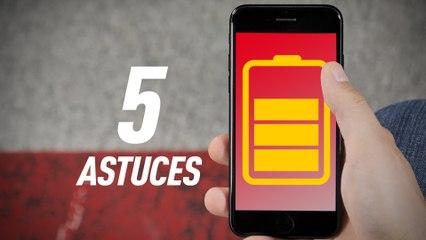5 astuces pour améliorer l'autonomie de votre iPhone
