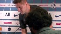 Ander Herrera, la conférence de presse du milieu du PSG