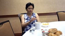 BDMV-121 Aruna & Hari Sharma at breakfast Table Residence Inn Marriott Rogers AR USA May 18, 2019