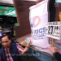 Agriculture department 'floods' market with cheap, imported NFA rice